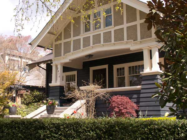 Classic Seattle Craftsman with architectural detail ColorWhiz Architectural Color Consulting  Renee Adsitt. Exterior House Painting Seattle Wa. Home Design Ideas