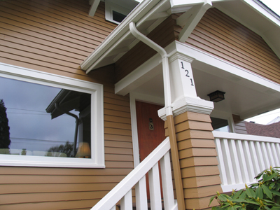 Seattle Craftsman exterior paint color